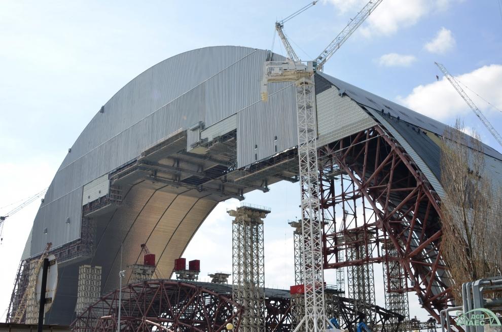 Chernobyl steel radiation shield 4