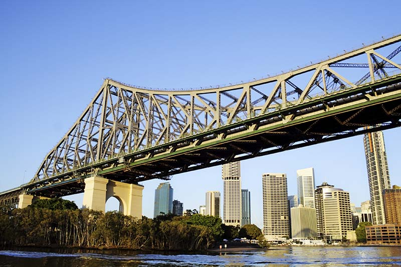Story Bridge, Brisbane's most iconic steel structure