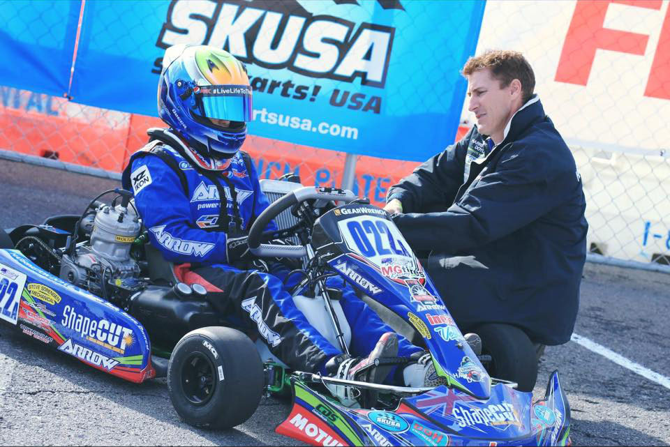 ShapeCUT sponsors go kart champion Declan Fraser