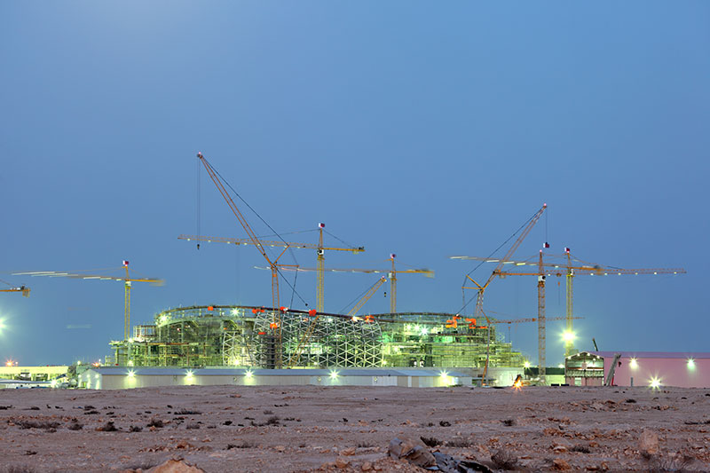How Steel Will Be Showcased at the 2022 FIFA World Cup in Qatar