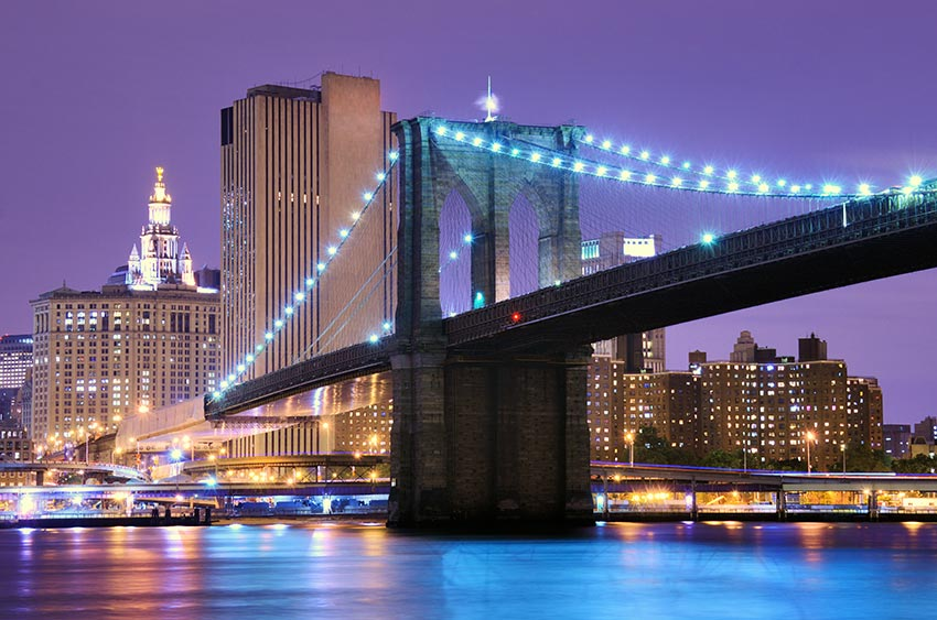 The Brooklyn Bridge: Steel Wonders of the World