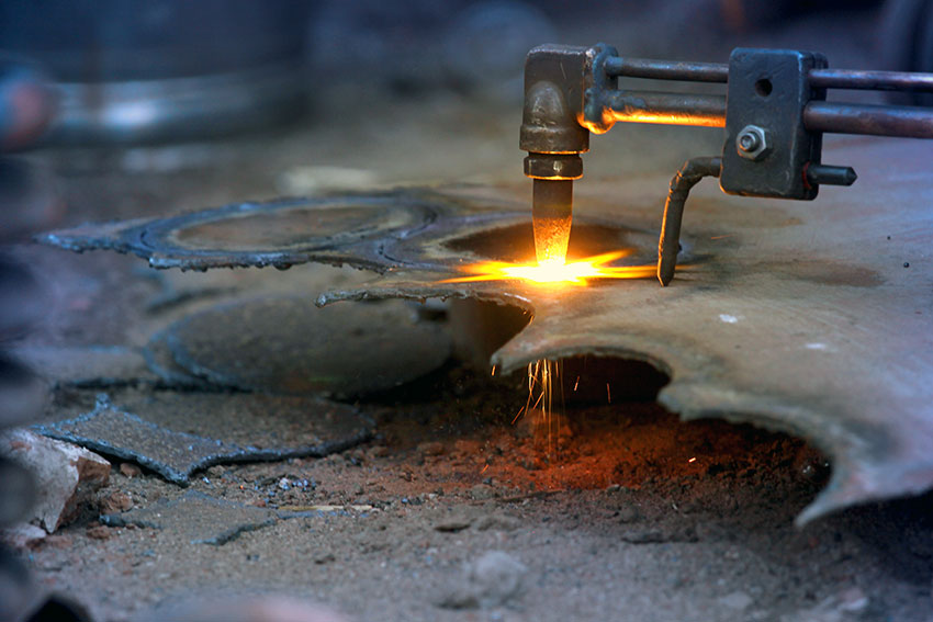 What is oxy welding and cutting?