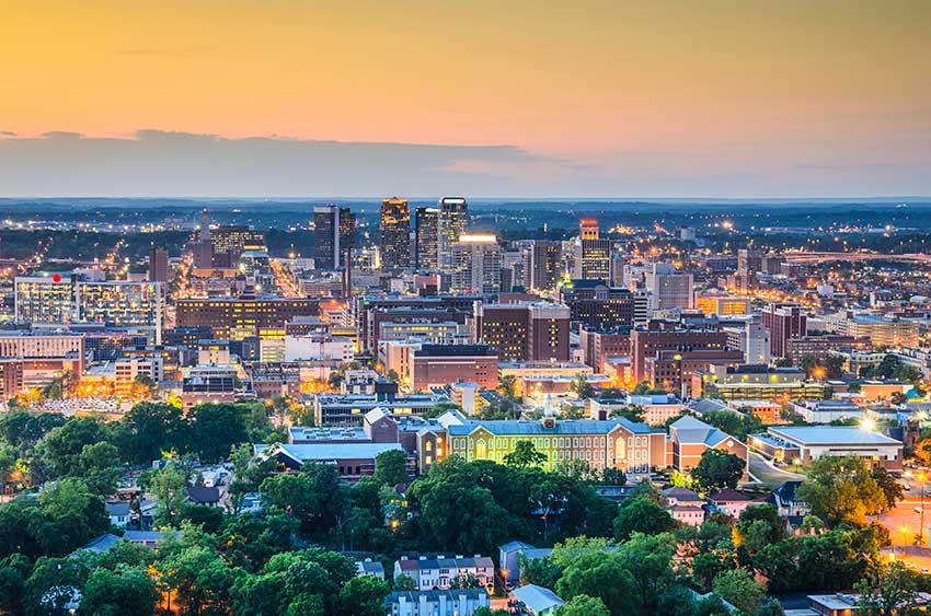 Massive Steel Cities: Birmingham,  Alabama