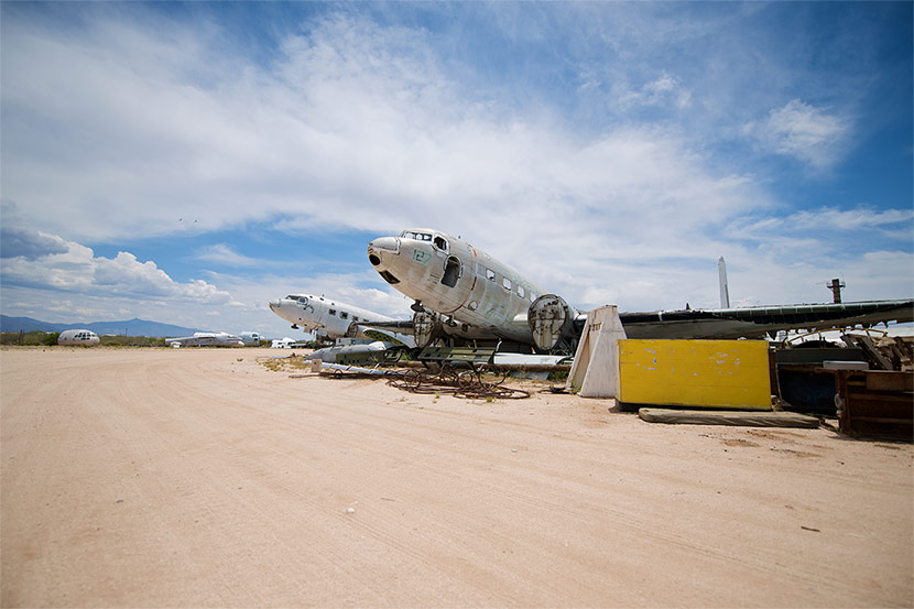 Urban Ghosts: The Boneyard Where Planes Go to Die