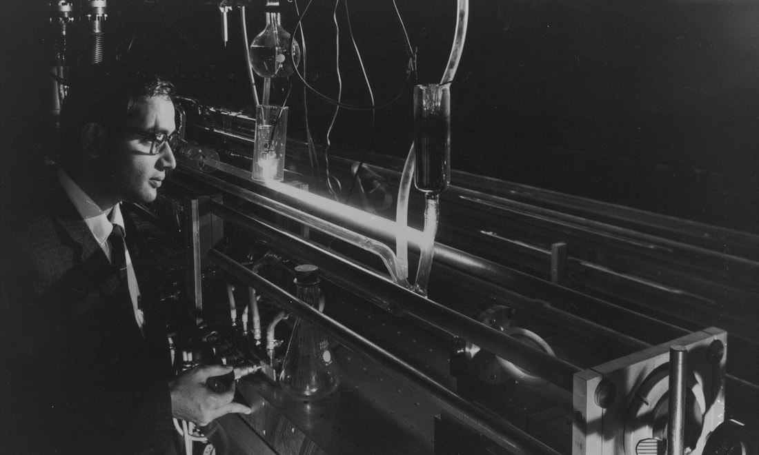 A light fantastic: The history of laser technology