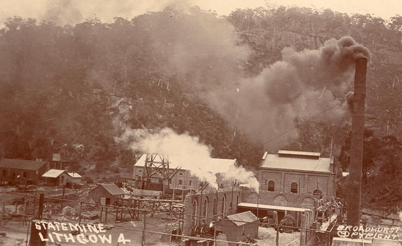 History of the Lithgow Blast Furnace