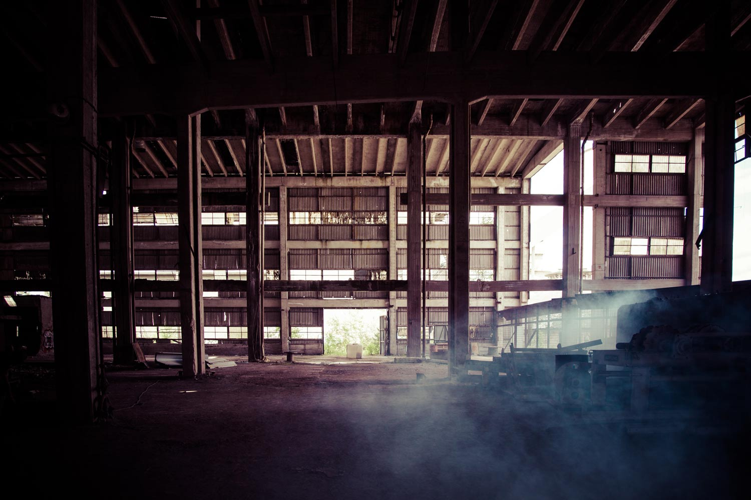 The forgotten past of abandoned steel mills
