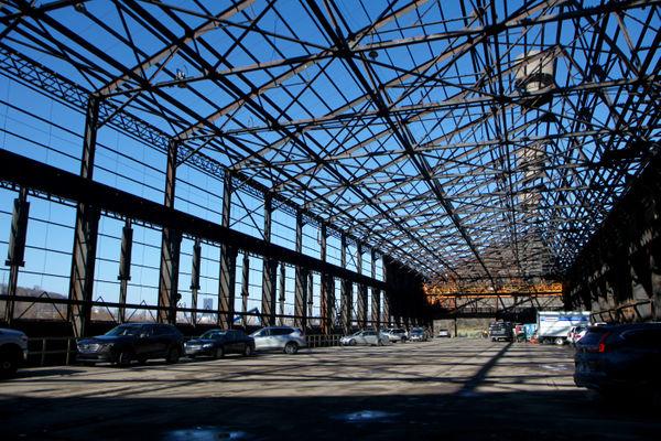 empty steel mill