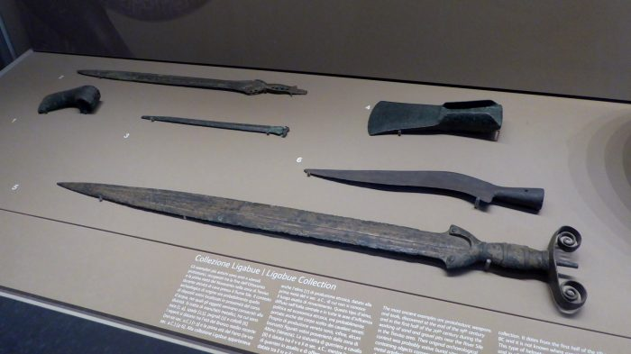 Iron age weapons