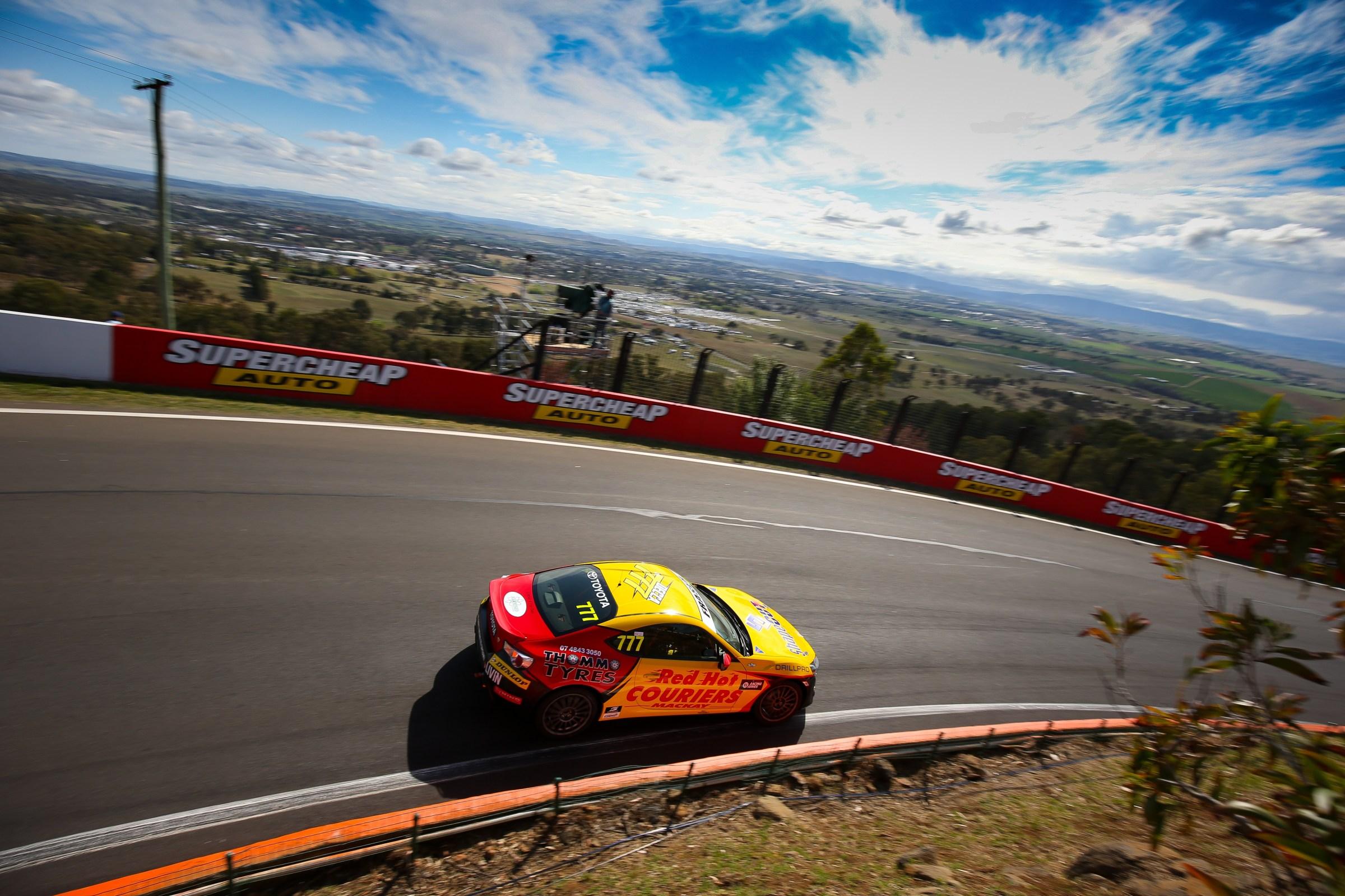 Thrills Abound for Declan Fraser on Mount Panorama